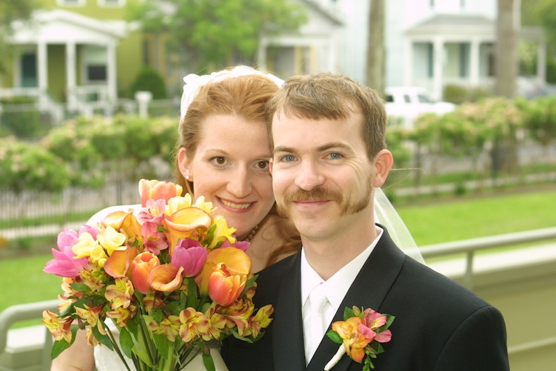 Scott and Angie ten years ago today.